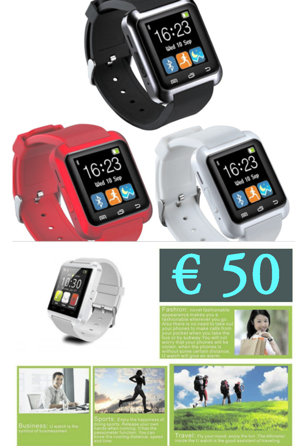 Offerta 3 : orologio smart